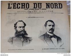1889 LA RÉVOLUTION BRÉSILIENNE / RIO DE JANEIRO / L'EMPEREUR PEDRO II / LE COMTE D'EU / LE MUSÉE GUIMET - Newspapers