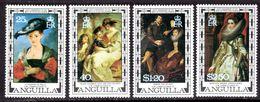ANGUILLA - 1978 RUBENS ANNIVERSARY PAINTINGS SET (4V) FINE MNH ** SG 303-306 - Anguilla (1968-...)
