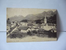 ALBEUVE SUISSE FR FIBOURG CPA 1903 LIBR CH MOREL BULLE NO 296 - FR Fribourg