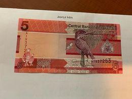 Gambia 5 Dalasis Uncirc. Banknote 2019 - Gambia