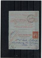 CTN63/EP - CL PNEUMATIQUE CHAPLAIN 1F60 - Postal Stamped Stationery