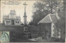 MARCIAC Pavillon De Notre Dame De La Croix - Autres Communes