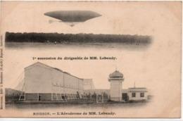 Moisson- L'Aérodrome De MM Lebaudy-1° Ascension Du Dirigeable De MM Lebaudy - Autres Communes