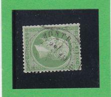 N° 20 -   CACHET A DATE  MONTBELIARD  - REF 9916 - 1862 Napoléon III