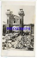 137158 CARIBBEAN HAITI PORT AU PRINCE VALLIERES MARKET POSTAL POSTCARD - Cartes Postales