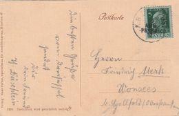 "Bayern / 1913 / Bahnpost-Stempel ""K.B.BAHNPOST"" Auf AK (Dreisesselfels) (BX38) - Bayern"