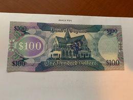 Guyana 100 Dollars Uncirc. Banknote 2012 - Guyana