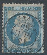 Lot N°56754   N°22, Oblit Cachet à Date Melun, Seine-et-Marne (73) - 1862 Napoléon III