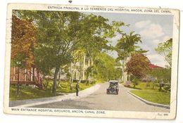 S8216 - Main Entrance Hospital Grounds, Ancon, Canal Zone - Panama