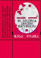 2020.04.04. 80th Anniversary Of The Katyn Massacre - MNH - 1944-.... Republiek