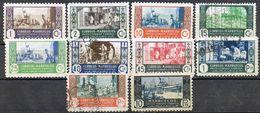 Serie Completa MARRUECOS Colonia Española 1946, Artesania, Num 260-269 º/* - Maroc Espagnol