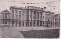 Liège - L'Université Et La Statue André Dumont - Liege