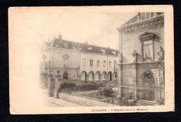 AUXONNE (21 Côte-d'Or) L'Hôpital Civil Et Militaire - Précurseur ( Cachet Gare De Dijon De 1902) - Auxonne