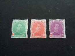 B227   BELGIË    OPB.129/31***   Rode Kruis - Belgique