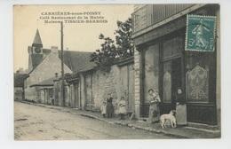 CARRIERES SOUS POISSY - Café Restaurant De La Mairie - Maison TISSIER BARROIS - Carrieres Sous Poissy