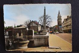 U-156 / [88] Vosges  Saint Die, Pont Central, Vue Sur La Place Saint Martin  / Circule 1957 - Saint Die