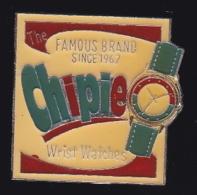 65868-Pin's.Chipie.Wrist Watches.Montre.Horloger. - Marcas Registradas