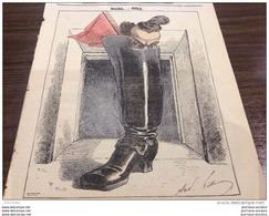 1869 Journal L'ÉCLIPSE - NOËL Par  GILL - LA MARSEILLAISE - ÉTRENNES DE 1870 - Zeitungen
