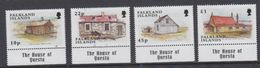 "Falkland Islands 2003 Shepherds Houses 4v ""The House Of Questa In Margin"" ** Mnh (48514A) - Falkland Islands"