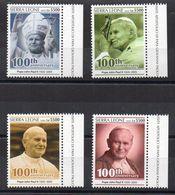 SIERRA LEONE - 2020 - LE PAPE JEAN-PAUL II - THE POPE JOHN PAUL II - PAPST JOHANNES PAUL II - - Sierra Leone (1961-...)