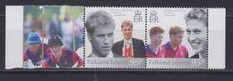 Falkland Islands 2003 Prince William 21st Birthday 2v (se Tenant) ** Mnh (48515) - Falkland Islands
