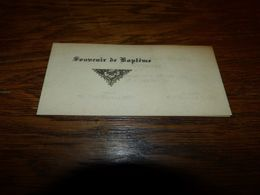 Souvenir Baptême F Depasse Jumey 1937 - Nacimiento & Bautizo