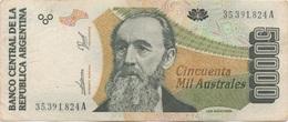 Argentine : 50000 Australes - Argentinië