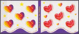 Carnet Neuf ** N° BC3221A(Yvert) France 1999 - Coeurs, Dites-le Avec Des Timbres - Booklets