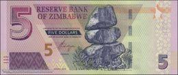 TWN - ZIMBABWE NEW - 5 Dollars 2019 Prefix AZ UNC - Zimbabwe