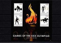 Olympics 2012 - Tennis - MICRONESIA - S/S** - Sommer 2012: London