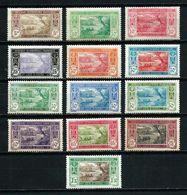 Costa De Marfil (Francesa) Nº 62/72A Cat.21,50€ - Côte-d'Ivoire (1892-1944)
