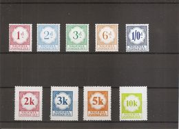 Nigéria ( Taxes 6/14 XXX -MNH) - Nigeria (1961-...)