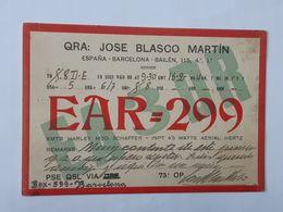 Carte QSL - QRA De Barcelona  ... Lot140 . - Sin Clasificación