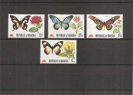 Nigéria - Biafra - Papillons ( 22/25 XXX -MNH) - Nigeria (1961-...)