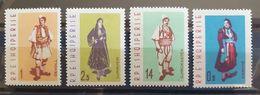 """Albanien 1962, """"Trachten"""" Mi 695-98, MNH Postfrisch - Albania"""