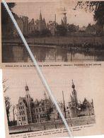 DEURNE..1933.1934. ZICHT OP DE VERBOUWING ZIJNDE STERCKXHOF / ONDERDAK VOOR MUSEUM - Sin Clasificación