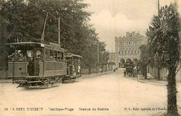 Hendaye Plage * Tramway Tram * Avenue Du Casin - Hendaye