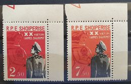 """Albanien 1963, """"Sicherheitsdienst"""" Mi 739-40, MNH Postfrisch - Albania"""