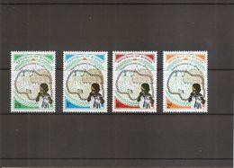 Nigéria - Biafra  ( 39/42 XXX -MNH) - Nigeria (1961-...)