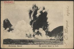 NEW ZEALAND - Geyser Waimangu. Used 1905 - Nuova Zelanda