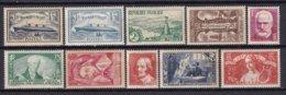 FRANCE - Année 1935 Complète Neuve TB - 10 Timbres - ....-1939