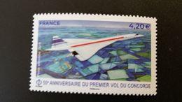 France Timbre NEUF** N° PA83 - Année 2019 - 50ème Anniversaire Du Premier Vol Du Concorde - Francia