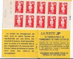 Timbres - 10 Timbres Rouge D - Valeur 25.00 Fr (3.81€) N°2713 - Freimarke
