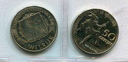 1982  Wilrijk - 50 Geitjes - Karnaval Neergeiten - Neerland Feestcomité - Token - Penning - - Nr 122 - Pièces écrasées (Elongated Coins)