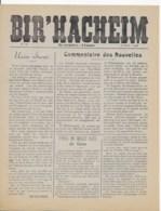 BIR'HACHEIM 30 Aout 1944 - Newspapers