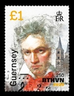 Guernsey 2020 Mih. 1777 Music. Composer Ludwig Van Beethoven (II) MNH ** - Guernesey