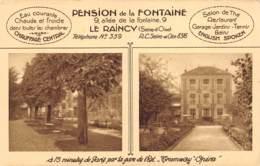 Le Raincy - Pension De La Fontaine - Le Raincy