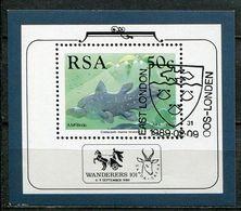 Südafrika South Africa Mi# Block 22 Gestempelt(FDC/SST)/used/CTO - Fauna Fish - Ohne Zuordnung