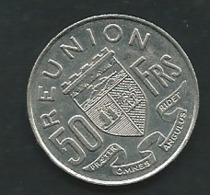 ILE DE LA REUNION. 50 FRANCS 1973 PIA227 10 - Reunión