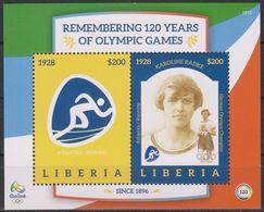 Olympics 2016 - Athletics - LIBERIA - S/S MNH - Verano 2016: Rio De Janeiro